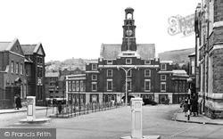 Maesteg, The Town Hall c.1955