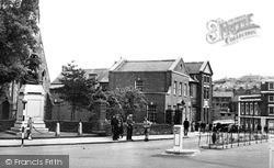 Maesteg, Town Hall Square c.1955
