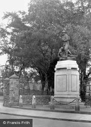 Maesteg, War Memorial 1938