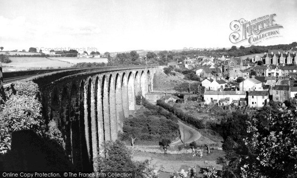 Photo of Maesycwmmer, The Viaduct 1952