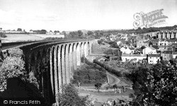 Maesycwmmer, The Viaduct 1952