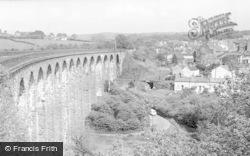 Maesycwmmer, The Viaduct c.1955