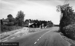 Magham Down, Old Forge Garage c.1955