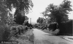 Magham Down, Old Road c.1955