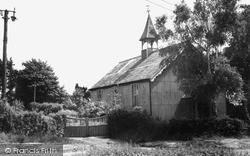 Magham Down, St Mark's Church c.1955