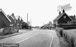 Magham Down, The Red Lion And Post Office c.1955