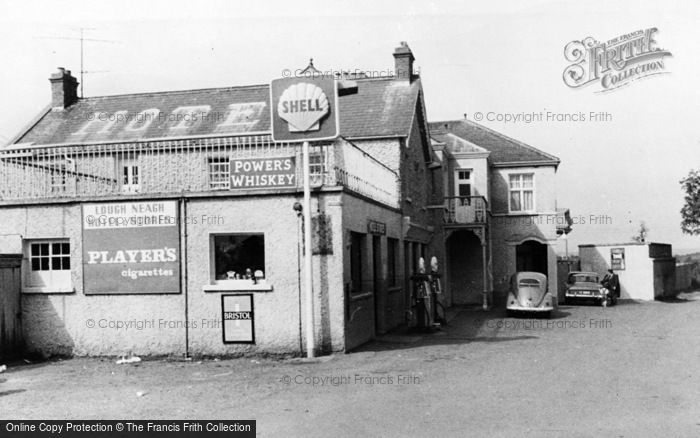 Photo of Maghery, Lough Neagh Hotel c.1960
