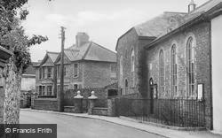 Magor, Ebenezer Baptist Church c.1955