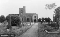 Magor, St Mary's Church c.1960