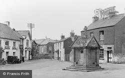 Magor, The Square And Memorial c.1960