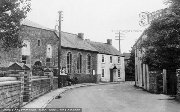 Photo of Magor, The Village c.1958