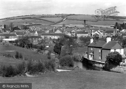 From Frome Hill c.1955, Maiden Newton