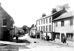 Maiden Newton, High West Street 1906