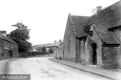 Maiden Newton, Schools And Post Office 1906