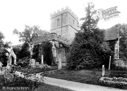 St Mary's Church 1906, Maiden Newton
