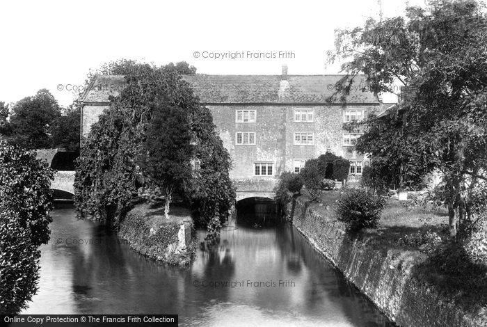 Maiden Newton,the Mill 1906,Dorset