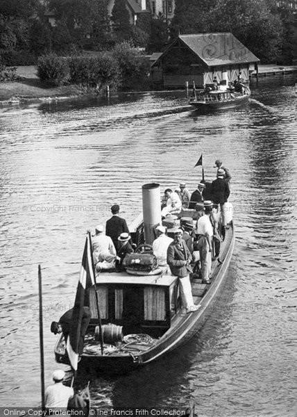 Photo of Maidenhead, a Pleasure Boat 1896, ref. 37912x