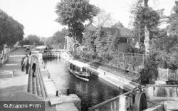 Maidenhead, Boulter's Lock 1893