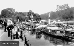 Maidenhead, Boulter's Lock 1906