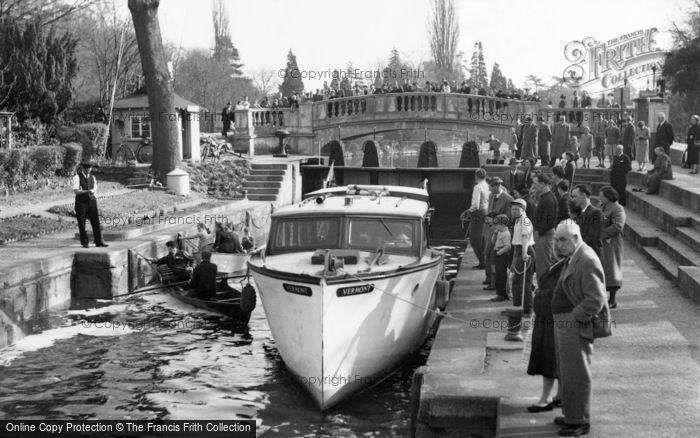 Photo of Maidenhead, Boulter's Lock 1956