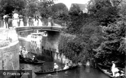 Maidenhead, Boulter's Lock Bridge 1906