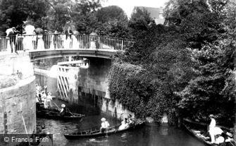 Maidenhead, Boulter's Lock Bridge 1906