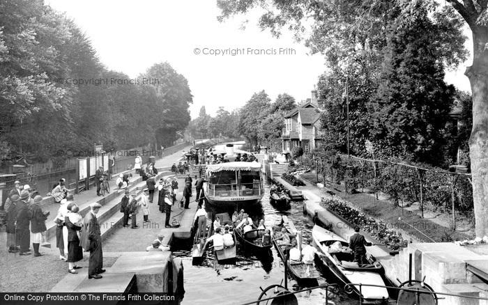 Maidenhead, Boulters Lock 1925