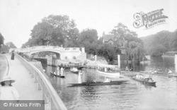 Maidenhead, Boulters Lock And Bridge 1913