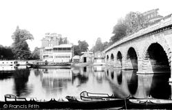 Maidenhead, Bridge And Riviera Hotel 1893