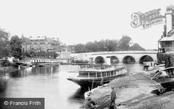 Maidenhead, Bridge And Riviera Hotel 1898