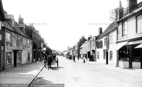 Maidenhead, Bridge Street 1890