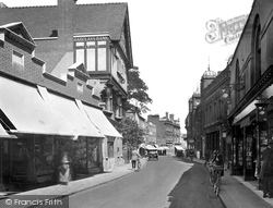 Maidenhead, High Street 1925