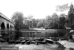 Maidenhead, Lord Pollington's House And The Thames 1890