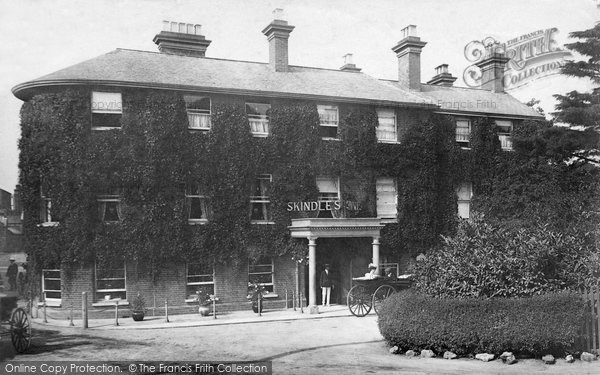 Photo of Maidenhead, Skindles Hotel 1906