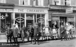 Maidenhead, The Creamery, Queen Street c.1908