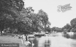 Maidenhead, The River c.1950