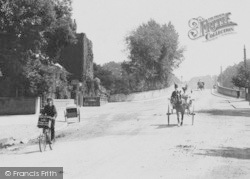 Maidenhead, Traffic On Bridge Road 1904