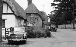 Maids Moreton, Ford Consul Car c.1955
