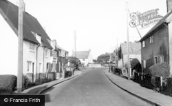 Maids Moreton, Main Road c.1955