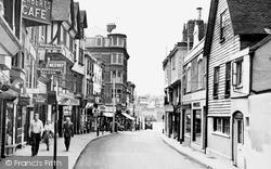 Maidstone, Bank Street c.1955
