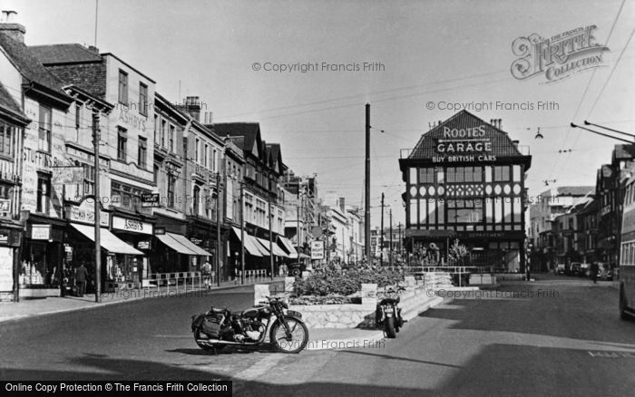 Photo of Maidstone, High Street c1955, ref. M9004