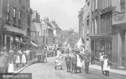 Maidstone, Lower Stone Street c.1900