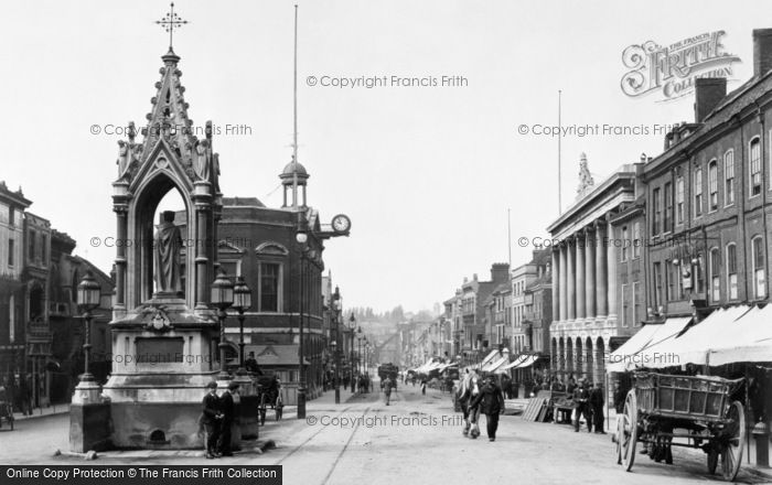 Maidstone, Market Place 1885