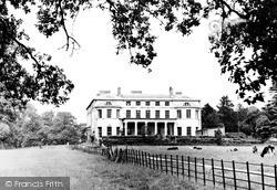 Mote House c.1955, Maidstone