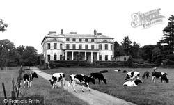 Maidstone, Mote House c.1955