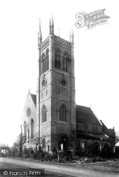 Maidstone, St Faith's Church 1892