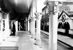 Maidstone, The Colonnade c.1955