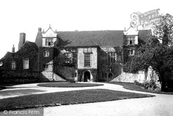 Maidstone, The Old Palace 1892