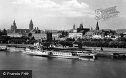 From The Rhine c.1930, Mainz