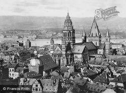 General View c.1930, Mainz